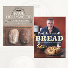 Paul Hollywood Breads Collection 2 Books Set Pack 100 Great Breads NEW