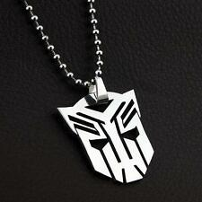 Transformers Boy Child Fashion Stainless Steel Chain Necklaces & Pendant Charm