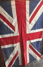 VINTAGE COTTON PRINTED UNION FLAG BRITISH