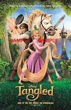 """Tangled ( 11"""" x 17"""" ) Movie Collector's Poster Print (T2) - B2G1F"""