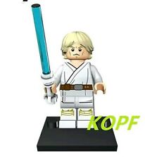 Luke Skywalker minifigure Star Wars Empire strikes  + lego pieces UK PLEASE READ