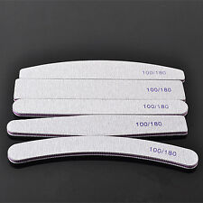 SALE 5Pcs Nail Sanding Files Polish Buffer Block Manicure Pedicure Tips Tool Gel