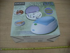 New Homedics Select Spa Full Nail Kit & Parrafin Spa