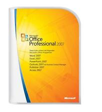 Microsoft Office Professional 2007 ( Full Version For 3PCs ) SAME DAY SHIPPING!
