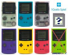 Game BOY COLOR CONSOLE #farbe au choix + jeu top!