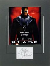 **WESLEY SNIPES SIGNED PHOTO AUTHENTIC AUTOGRAPH BLADE THE FAN DEMOLITION MAN**