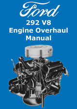 FORD 292 V8 ENGINE OVERHAUL MANUAL