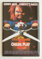 Child's Play 2 FRIDGE MAGNET (2 x 3 inches) movie poster chucky doll