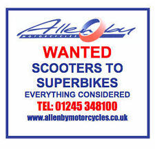 MOTORCYCLES WANTED.  SCOOTERS TO SUPERBIKES.  CHELMSFORD,ESSEX.  01245 348100