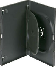 1 x Retail Black Double Amaray DVD Case 14mm with tray