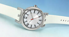 ELLETIME Elle Time Women's EL20126S03N Stainless Steel White Leather WATCH