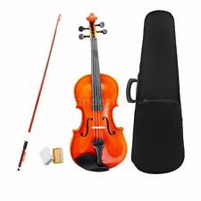 3/4 Size Violin Fiddle Basswood Steel String Arbor Bow Toy for Kids 10-13 M7S2