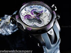 NIB Invicta Men Reserve Venom Swiss Made Master Calendar Chrono Purple Diver