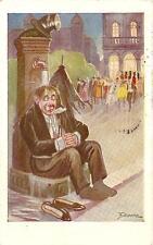 CARTOLINA CARICATURALE + Ballo in maschera..........illustratore G. DIDONE