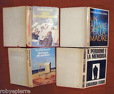 LOTTO 4 libri Il perdono e la memoria Uomo di conseguenza un'altare per la madre