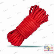 New 2017 Red Two 5M Fantasy Fetish Soft Cotton Bondage Rope Strap Restraints US