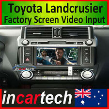 Toyota Landcrusier Prado A/V AV Video Input Play DVD to Factory OEM Screen