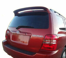 PAINTED TOYOTA HIGHLANDER FACTORY STYLE SPOILER 2001-2007