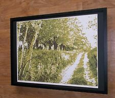 Valiunas print - limited edition art  -50''x70'' frame, abstract forrest art