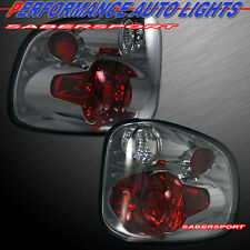 1997-2000 FORD F-150 FLARESIDE STEPSIDE ALTEZZA TAIL LIGHTS SMOKE PAIR 97 98 99