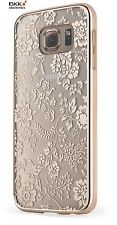 Samsung Galaxy S6 Case Cover Schutzhülle Flowers gold Meliconi 40617000049BA