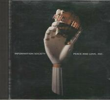 Music CD Information Society Peace and Love, Inc.
