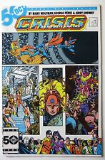 Crisis on Infinite Earths #11 (Feb 1986, DC) (C4519) Wonder Woman JLA Batman