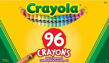 Crayola Crayons With Built In Sharpener 96 Crayons Adult Colouring Books