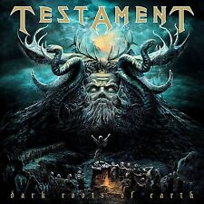 TESTAMENT - DARK ROOTS OF EARTH (BLACK VINYL)  2 VINYL LP NEW+