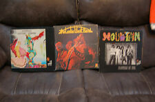 MOUNTAIN and LESLIE WEST BAND (3 Albumss) NANTUCKET SLEIGHRIDE, FLOWERS OF EVIL