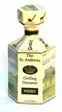 St Andrews Golfing Whisky Collectable Decanter  Pointers of London Boxed NEW