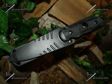 Survivor/Belt/Boot/Leg/Neck/Knife/Full tang/Ultra Concealable/Survival/Zombie/BK