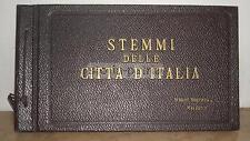 REGIONALISMO ITALIANO_ARALDICA_STEMMI_ANTICO ALBUM_FIGURINE_POLVERI BRIOSCHI