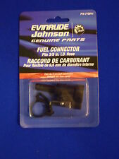 """NEW 0775641 Evinrude or Johnson Fuel line end connector 3/8"""" ID OF HOSE"""