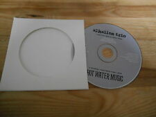 CD Punk Alkaline Trio - Hot Water Music Split (3/4 Song) Promo JADE TREE cb