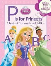 P Is for Princess Disney Board...letter trace 100 flaps Aurora Belle Cinderella