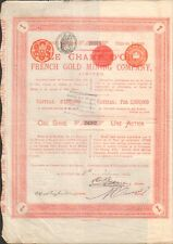 LE CHAMP D'OR, French Gold Mining (ROYAUME-UNI) (S)