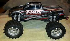 Traxxas 1/10 E-Maxx Brushless Roller Rolling Chassis w/ spare parts