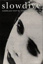 """22/5/93PGN39 SLOWDIVE : OUTSIDE YOUR ROOM ADVERT 7X5"""""""