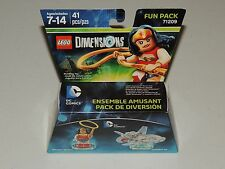 LEGO DIMENSIONS BUILDING TOY SET 71209 *NEW!* WONDER WOMAN & INVISIBLE JET