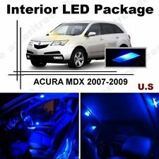 Blue LED Lights Interior Package Kit for Acura MDX 2007-2009 ( 15 pieces )