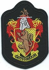 House Gryffindor Embroidered Patch Iron-on Art Good Luck Magic Harry Potter