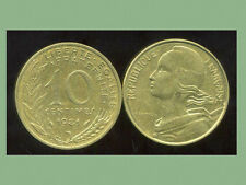 FRANCE  FRANCIA  10 centimes 1981 marianne  ( bis )