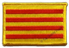 Spain Catalonia Flag EMBROIDERED PATCH 8x6cm Badge