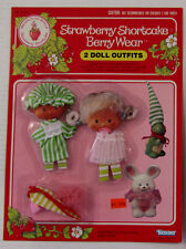 Strawberry Shortcake 2 Berry Wear outfits -- Berry Good Nite & Berry Sweet