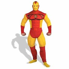 The Invincible Iron Man Classic Adult Muscle Deluxe Costume Marvel Comics 42-46