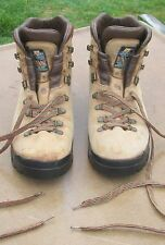Zamberlan Tan Leather Hiking Gore-Tex Men's Boots Made In Italy - Size 9.5