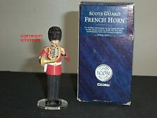 CORGI F07211 ICON SCOTS GUARDS BAND FRENCH HORN PLAYER METAL TOY SOLDIER FIGURE