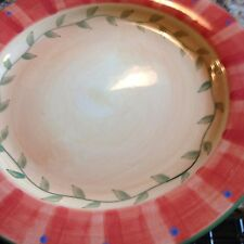 PFALTZGRAFF DINNER PLATES  NAPOLI   SET OF TWO (2)  HAND PAINTED