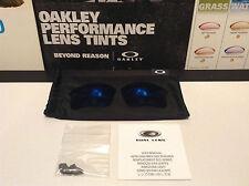 Oakley Flak Jacket 1.0 XLJ Ice Iridium Replacement lenses - SKU# 13-657 - w/ bag